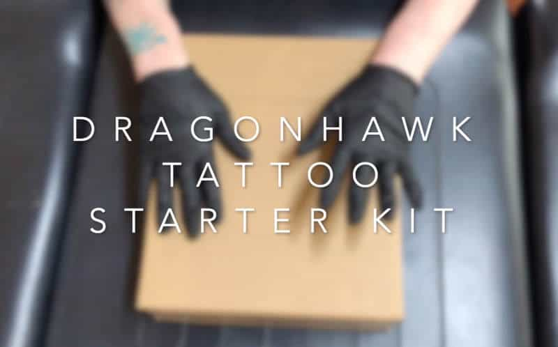 Best starter tattoo kit - Dragonhawk Tattoo Starter Kit Review For Beginners