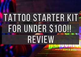 Best Starter Tattoo Kit - Dragonhawk Tattoo Starter Kit Review