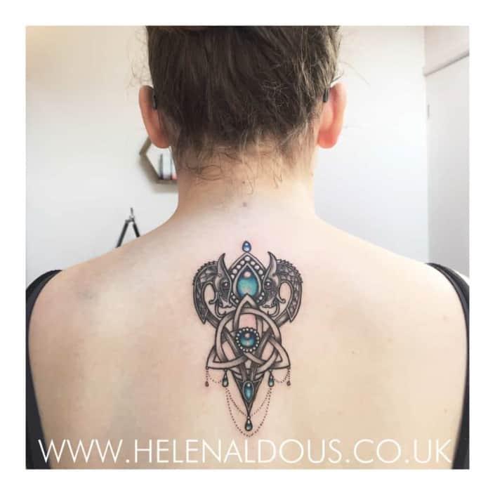 Celtic Tattoo by Helen Aldous